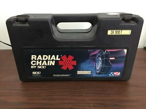 Radial Tire Snow Chains New P165 70 13 P185 60 13 P165 65 14 P175 50 15