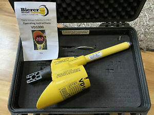 Bierer Meters Vd1000 Digital Voltage Detector 0 999kv