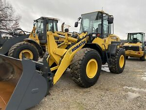 2017 Komatsu Wa200 Wheel Loader 660hr Forks bucket Cplr Warranty Cat Case Deere