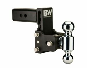 Ts10037b B W Tow And Stow Hitch Dual Ball Mount 5 Drop 5 1 2 Rise