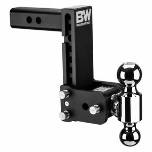 Ts10040b B W Tow And Stow Hitch Dual Ball Mount 7 Drop 7 1 2 Rise