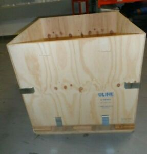Uline Wood Shipping Crate 36 X 36 X 36 S 18995 10 Crates Total