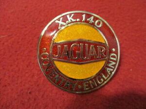 Jaguar Xk140 Xk 140 Grille Badge New Beautifully Made