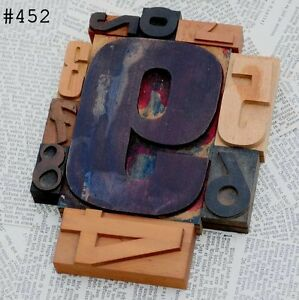 Mixed Numbers 0 9 Letterpress Wood Printing Block Wooden Type Stamp Vintage 789