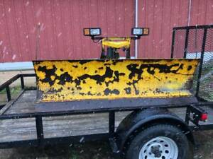 Fisher 8 Ft Minute Mount Snow Plow Fits Chevy gem 2500 3500