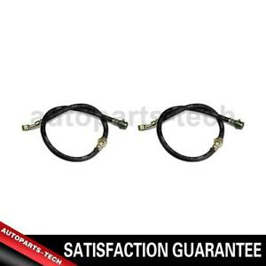 2x Centric Parts Rear Brake Hydraulic Hose For Ford Mustang Ii 1974 1976