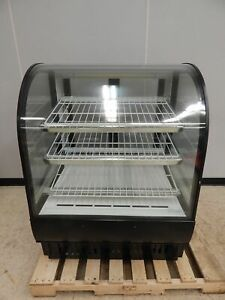 True 36 Curved Glass Refrigerated Bakery Case Model Tcgr 36