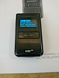 Koamtac Kdc200i Bluetooth Barcode Scanner Ios Apple Android Cable Instructions