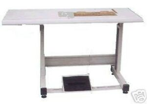 New Single Needle Table Set 19x 7 For Most 1 ndl Industrial Sewing Machine