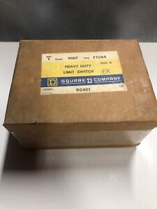 Square D 9007 Type Ftub4 Ser A Foundry Duty Limit Switch New
