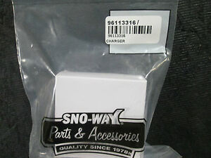 Sno Way 96113316 Pro Control Ac 120v Charger