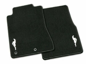 Genuine Ford Mustang Carpeted Floor Mat Set With Mustang Logo 2015 2020