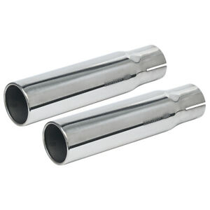 New 1970 71 Torino Gt Exhaust Tips Lh Rh Fastback Convertible 429cj Ford