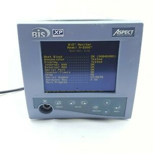 Aspect Medical Bis Bispectral Index Monitor A 2000 Powers On Untested