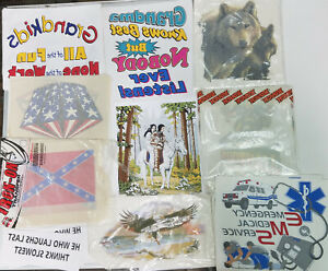 Vintage Iron On Transfer Lot 8 70s 80s T Shirt Transfers 50 Or More Per Lot