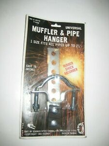 Nib Unopened Vintage Universal Muffler Pipe Hanger With Rubber Shock Absorber