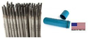 E7018 1 8 40ibs Stick Welding Electrode 7018 Rods With Us Made Blue Rod Guard