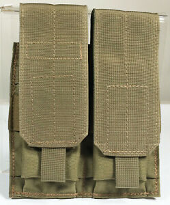 MOLLE II Tactical Tan MA58 Closed Top Double Mag 5.56 .223 Rifle Magazine Pouch $12.00