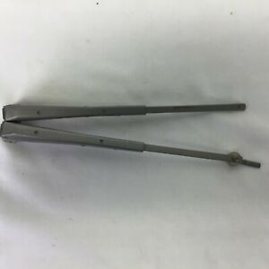 Vintage 40s 50s Car Or Truck Windshield 11 Heavy Duty Wiper Arms 1 Adapter Pair