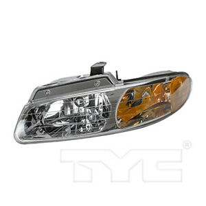 Fits 2000 Chrysler Town Country Headlight Assembly Driver Side dot