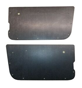 1987 1995 Jeep Wrangler Yj Black Abs Door Forever Panels Interior Made In Usa