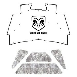 Hood Insulation Pad Cover For 2002 08 Dodge Truck Under Cover W M 015 Dodge Ram