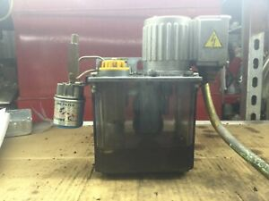 Mmx ii Automatic Lubricator W Fx 1 Line Filter Single Phase N 02 Motor