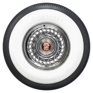 Coker Firestone 3 Inch White Wall Bias Tire 890 15
