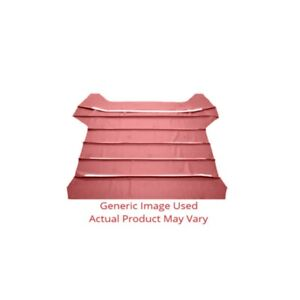 Headliner sunvisor Material For Automotive Car Truck 2dr Red