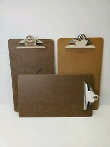 Lot Of 3 Vintage Clipboards Large 9 15 1 2 Great For Displaying Photos