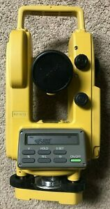 Topcon Dt 20b Theodolite Digital Transit With Optical Plumb Free Shipping
