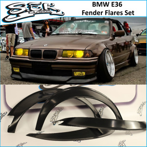 Bmw E36 Coupe Fender Flares Set bmw 3 Series Wide Body Overfenders 2 Doors