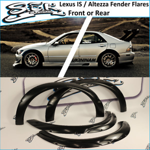 Lexus Is200 Is300 Wald Style Fender Flares Front Or Rear Fit Altezza Gse Gxe