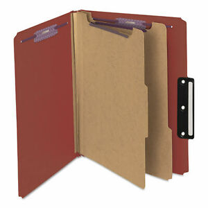 Smd14230 Pressboard Classification Folders With Safeshield Coated Fasteners