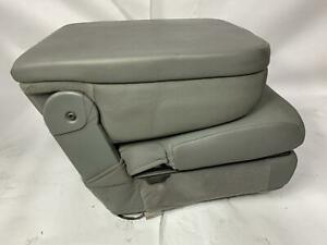 2015 Dodge Ram 1500 Front Center Stationary Cloth Seat Console W O Cup Holder