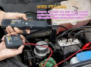 Digital Car Circuit Scanner Diagnostic Tool Cable Wire Circuit Identify Finder
