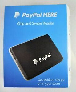New paypal Here chip swipe Credit Card Reader pcsusdcrt black Wireless with Clip