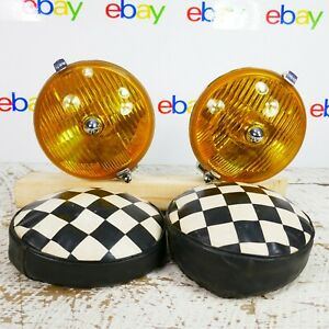 Yellow Lucas Fog Light Ft576 S f t 576 Accessories Cars Rare Chrome Ft 576 Sft