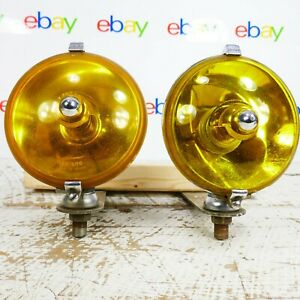 Yellow Lucas Fog Light Lr576 S F T 576 Accessories Cars Rare Chrome Lr 576 Sft