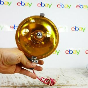 Yellow Lucas Fog Light S L R 576 Accessories Cars Rare Chrome Slr 576
