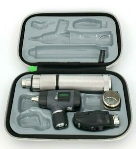 Led Welch Allyn Macroview Otoscope Diagnostic Set Ophthalmoscope Plugin Handle