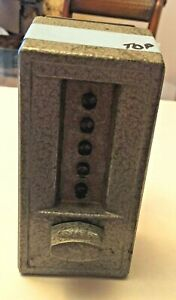 Vintage Pushbutton Kaba Door Lock Set Two Piece Design With Security Codes