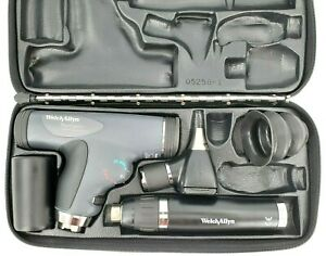 Welch Allyn 3 5v Panoptic Diagnostic Smart Set Lithium ion Handle Otoscope