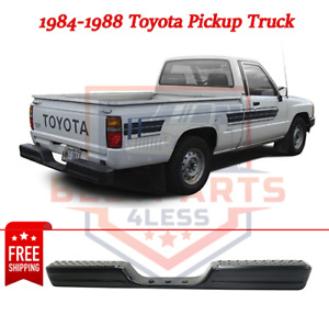 New Rear Step Bumper Face Bar 2283586001 For 1984 1988 Toyota Pickup Truck