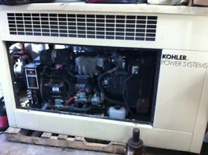 30res 30kw Kohler Lp Or Natural Gas Generator W Enclosure Low Hours 146 Hrs