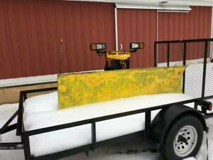 Fisher 8 Ft Snow Plow 3 Wire Minute Mount Plow Side Only