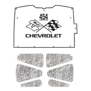 Hood Insulation Pad Heat Shield For 94 04 Chevy S 10 S 15 Under Cover W Ceid 454