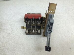 Square D 9422 Rc 3 30 Amp 600 Ac 250 Dc Disconnect Switch 9422rc 3 9422rc3 tsc