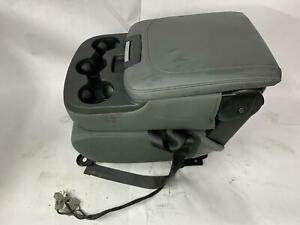 2015 Dodge Ram 1500 Center Stationary Jump Seat Console Cup Holder Diesel Gray