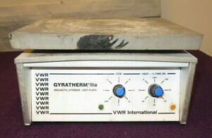 Vwr Gyratherm Iia Magnetic Stirrer hot Plate 115vac Used